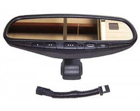 Corvette Mirror, Inside Rear View With Home Link, 2001-2004