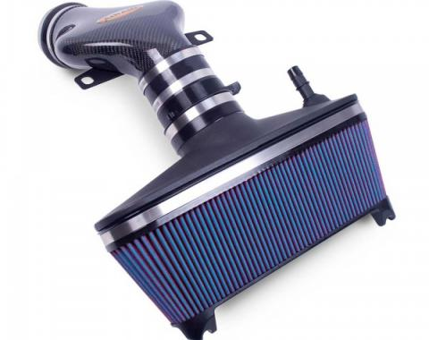 Corvette AIRAID® Cold Air Dam Intake System With Blue SynthaMax Filter And Carbon Fiber Tube, 2001-2004