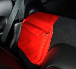 Corvette Leather Route Bag, Solid Color, 1997-2004