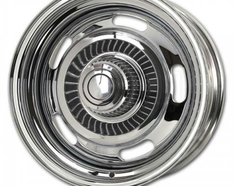 "Corvette Rally Wheel Replacement Kit, 15"" x 8"", 1968-1982"