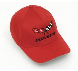 Corvette C3 Cap, Red