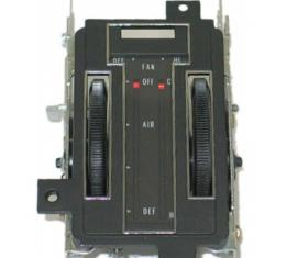 Corvette Heater Control Assembly, Without Air Conditioning, 1972-1975