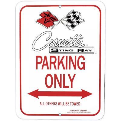 Corvette Stingray Parking Sign, With C2 Logo