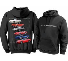 Corvette Hoodie Sweatshirt, Nothing But Corvette