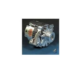 Corvette Alternator, 140 Amp, Chrome, Power Master, 1986-1991