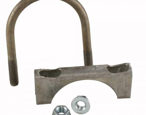"""Corvette Exhaust Clamp, Stainless Steel, 2-1/2"""""""