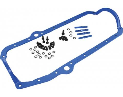 Corvette Engine Oil Pan Gasket, Small Block, 1975-1986Early