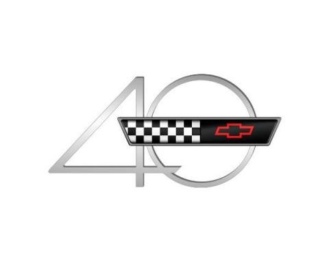 Corvette Decal, 40th Anniversary, 1993