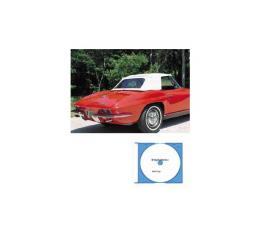Corvette Convertible Top Installation DVD, 1963-1967