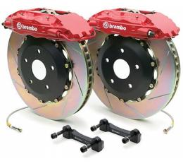 Corvette Brake Kit, Z51 Or Z06, Front, Slotted, Brembo, 2005-2009