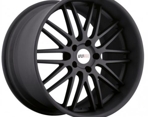 Corvette Wheel, Cray Hawk, 20x11'', Rear Only, Matte Black, 2014-2017