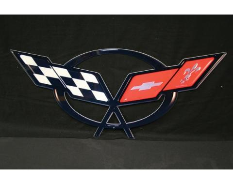 Corvette Metal Sign, 1997-2004