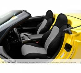 Corvette Coverking Neosupreme Seat Cover, With Power Passenger Seat, 1997-2004 Sport Coupe