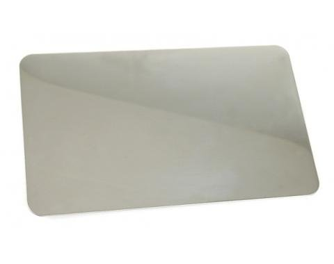 Corvette Exhaust Enhancer Plate, Plain, Without Logo, 1997-2004