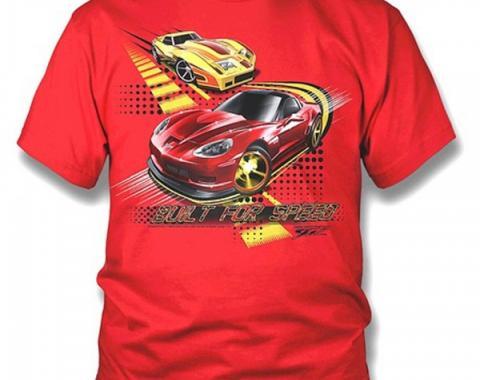 Corvette Kids Shirt - Corvette C6 & C3 - Built for Speed