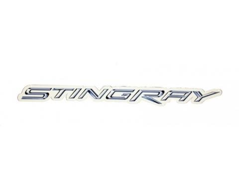 "Corvette Metal Sign, C7 Stingray Script 32"" X 3"""