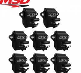 Black Pro Power LS1/LS6 Coils, 8-Pack | MSD 828583 - 1997-04