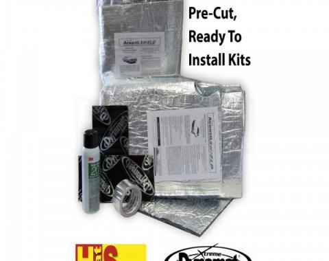 Quiet Ride Insulation, Body Panel Kit, Convertible| CORV 0510-CVBPK Corvette 2005-2013