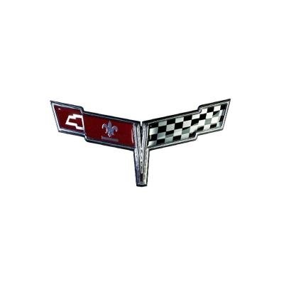 Trim Parts 80 Corvette Nose Emblem, Each 5007