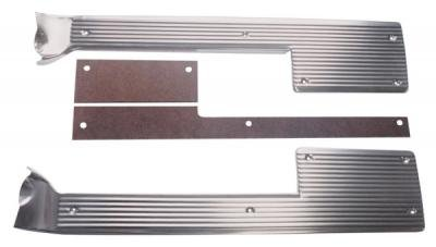 Trim Parts 61-62 Corvette Sill Plates with Spacers, Pair 5263