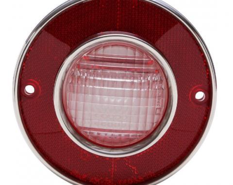 Trim Parts 75-79 Corvette Back Up Light Lens Assembly, Each A5825