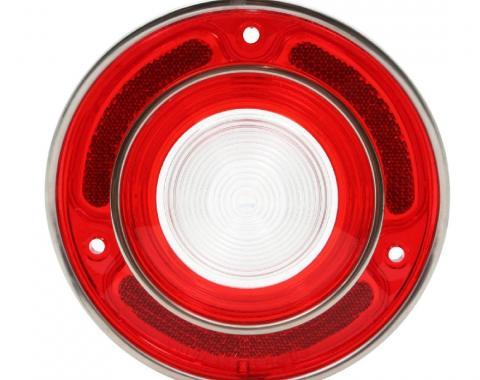 Trim Parts 69 Corvette Back Up Light Lens, Each A5787