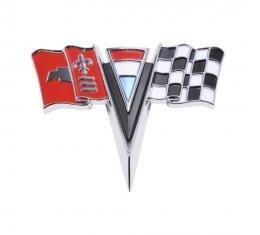 Trim Parts 63-64 Corvette Front X-Flag, Each 5216