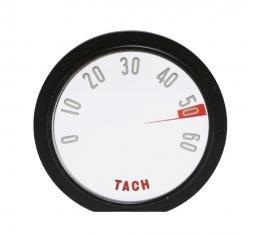 Trim Parts 58 Corvette Tachometer Face, 6000 RPM, Each 5114