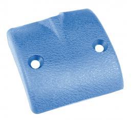 Trim Parts 67 Corvette Rear View Mirror Bracket Cover, Medium Blue, Each 5224B