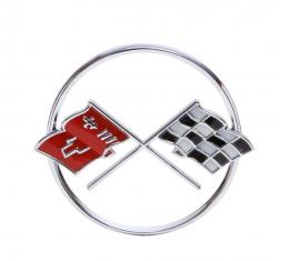 Trim Parts 62 Corvette Nose Emblem, Each 5205