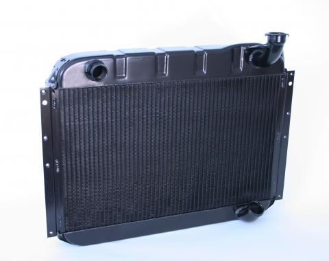 DeWitts 1955-1960 Chevrolet Corvette Direct Fit Radiator Black, Manual 32-1239055M