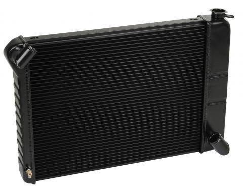 DeWitts 1966-1967 Chevrolet Corvette Direct Fit Radiator Black, Manual 32-1249066M