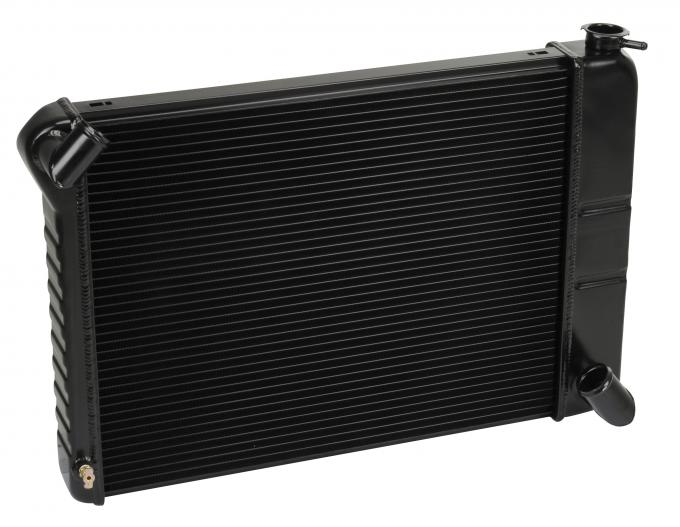 DeWitts 1966-1967 Chevrolet Corvette Direct Fit Radiator Black, Manual 32-1239066M