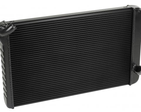 DeWitts 1969-1972 Chevrolet Corvette Direct Fit Radiator Black, Manual 32-1239069M