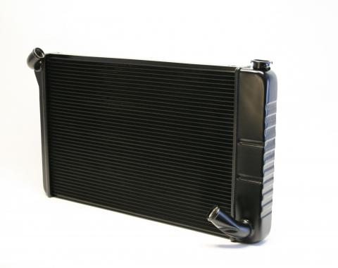 DeWitts 1969-1972 Chevrolet Corvette Direct Fit Radiator Black, Manual 32-1249070M