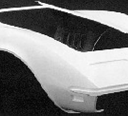 Corvette Front End, Door To Door, 1 Piece, 1980-1982