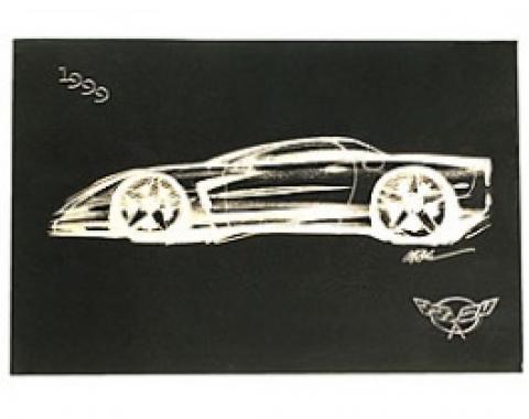 Corvette Owners Manual, 1999