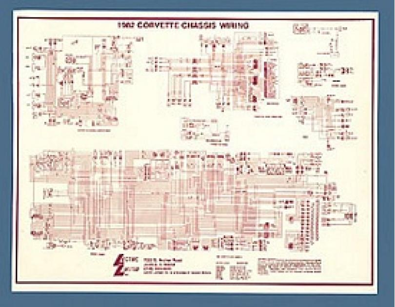 Corvette Wiring Diagram  Laminated