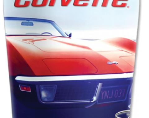 Corvette Mugzie® brand Travel Mug - Beach Corvette