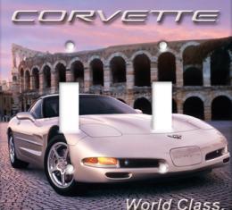 Rome Corvette Switchplate