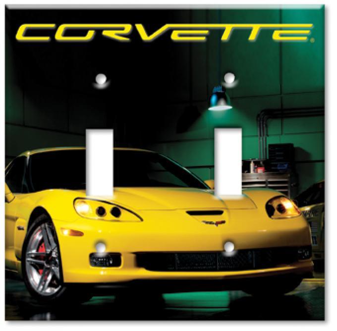 Corvette ZR1 Switchplate, Single