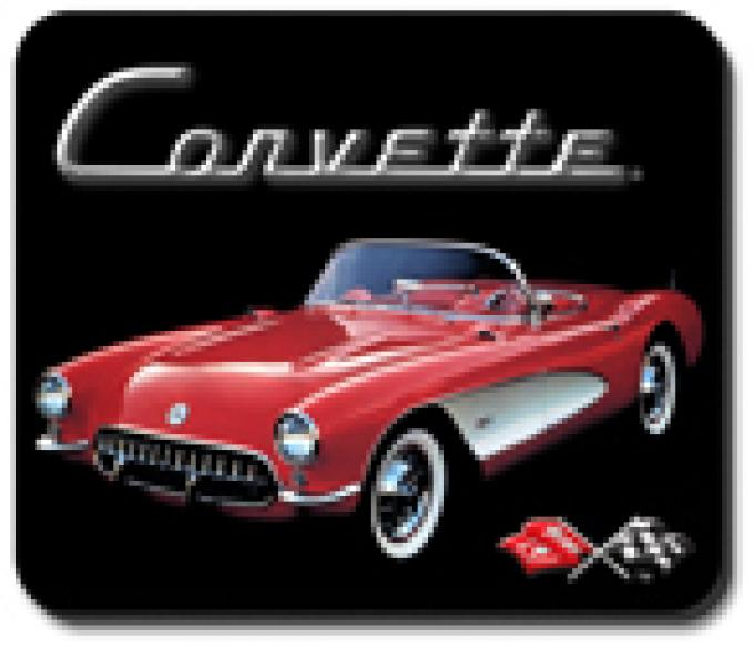"Corvette ""Red"" Mouse Pad"