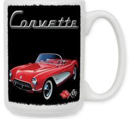 Red Corvette Coffee Mug