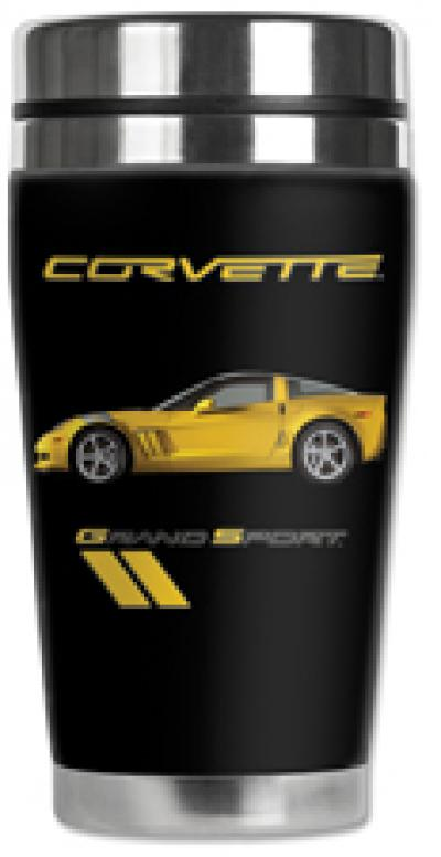 Corvette Mugzie® brand Travel Mug - Corvette Grand Sport