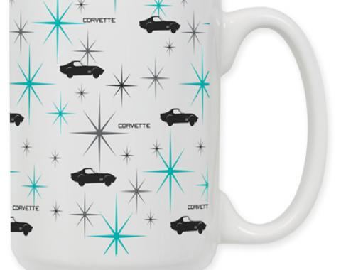 Corvette Sihouette Coffee Mug