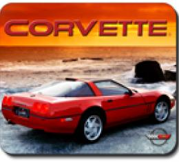 Corvette Sunset '90 ZR1, Mouse Pad