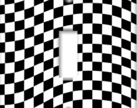 Checkered Switchplate