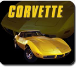 Corvette Yellow Stingray Mouse Pad