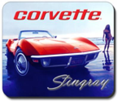Corvette Beach Vette Mouse Pad