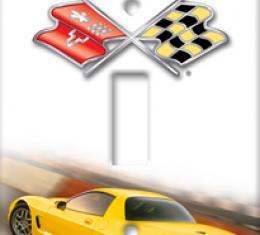 2004 Z06 Corvette Switchplate